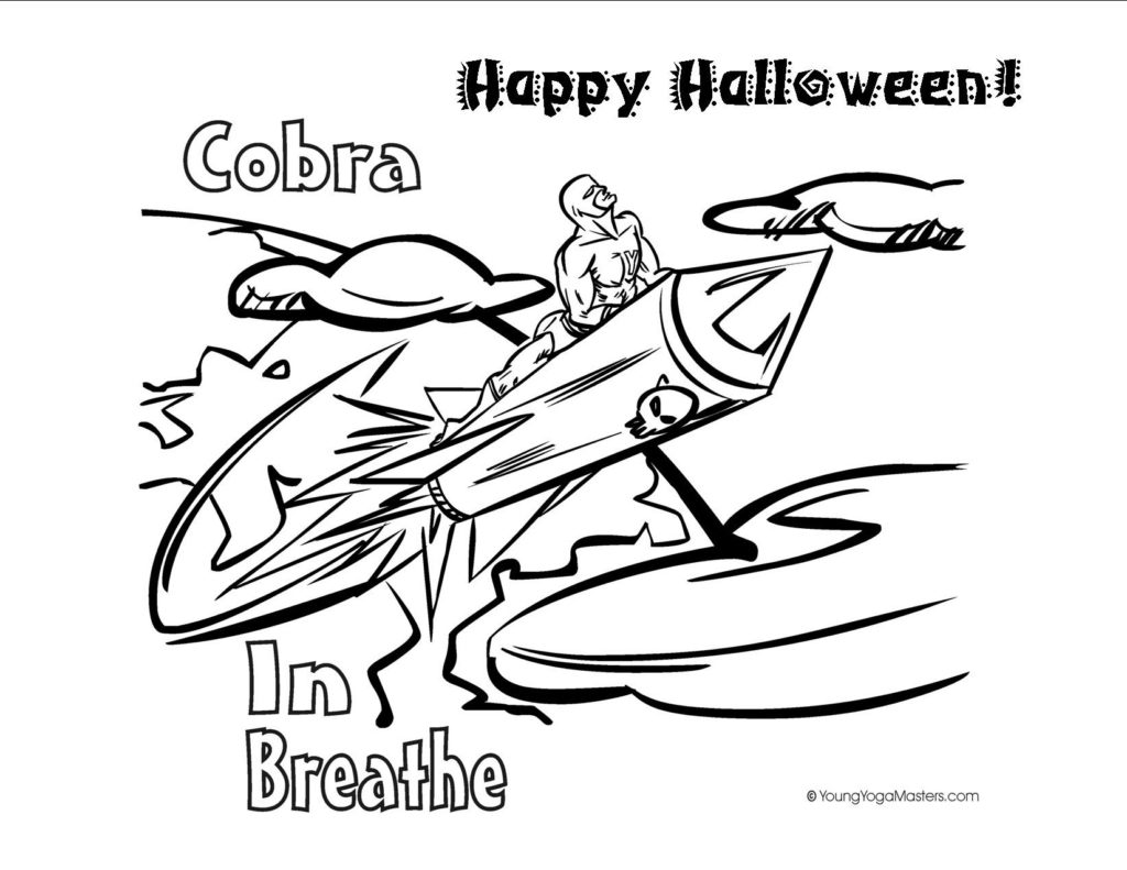 3 Kids Yoga Ideas for a Healthy Halloween - Including Free ...