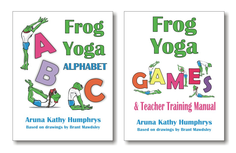 graphic relating to Printable Yoga Poses for Preschoolers identify Frog Yoga Alphabet - Young children Yoga Instructor Exercising Printable