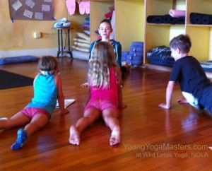 Teaching Yoga in the Practicum of the New Orleans Kids Yoga Teacher Certification